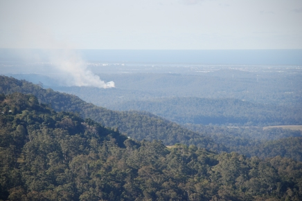 Brookfield Crt Burn from Beechmont (1)